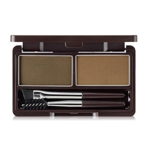Купить Пудра для бровей The Saem Eco Soul Eyebrow Kit, 01 Коричневая, 2*2, 5 г, Eco Soul Eyebrow Kit 01 Brown