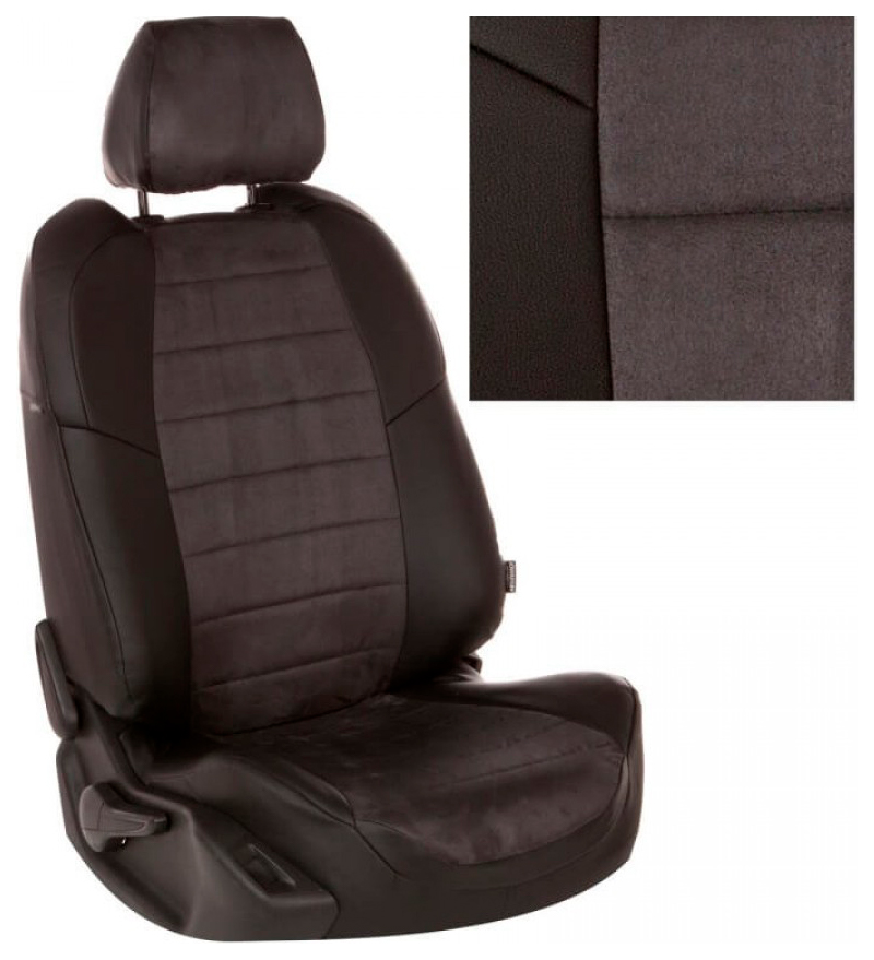 Комплект чехлов на сиденья Автопилот Ford fo-fo-f3t-chets-a фото