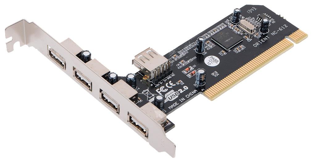 PCI контроллер USB ORIENT NC 612