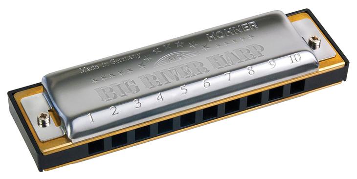 Губная гармоника диатоническая HOHNER Big river harp 590/20 E