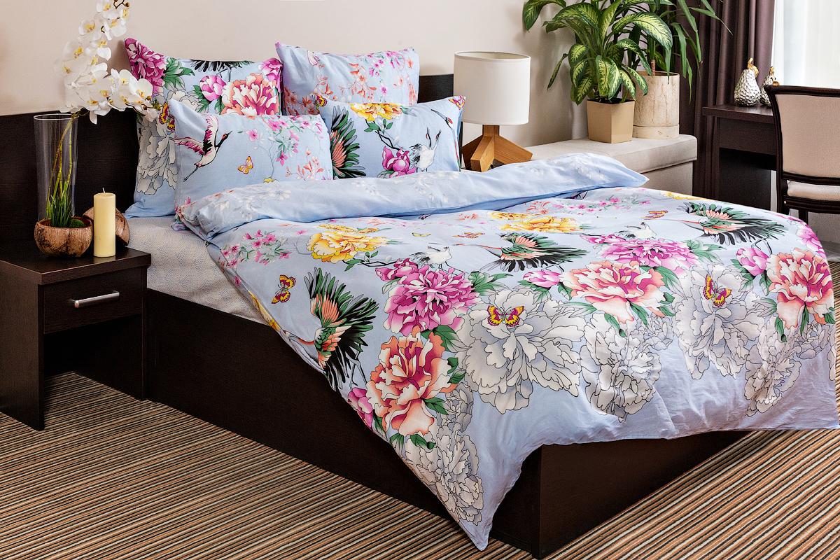 Комплект постельного белья Ночь нежна Zhuravli (2 сп. евро)