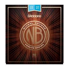 Струны для акустической гитары D ADDARIO NB1047-12 по цене 1 204