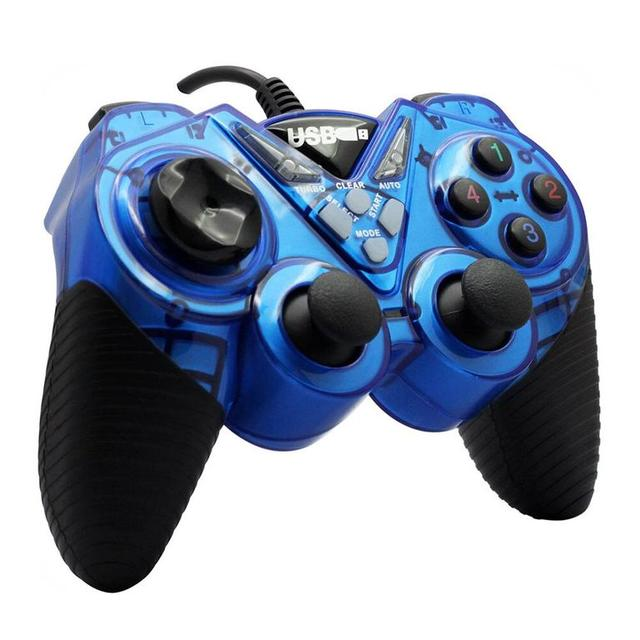 Геймпад Double Shock Controller USB 908 Blue