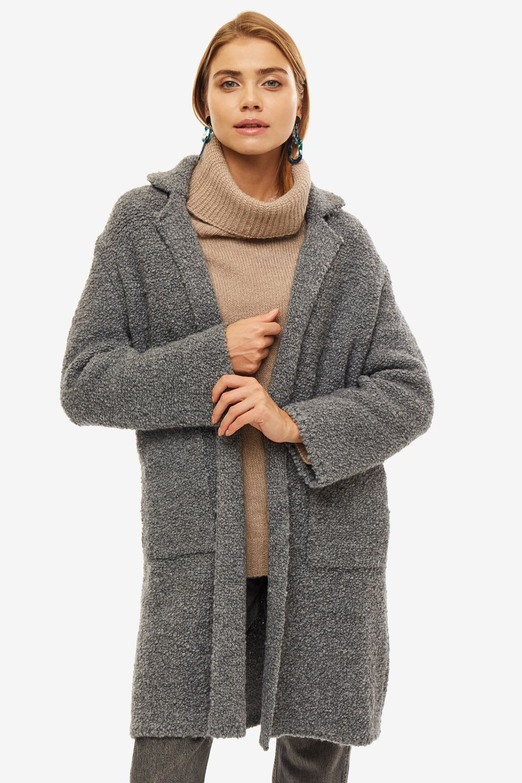 Пальто женское Liu Jo серое