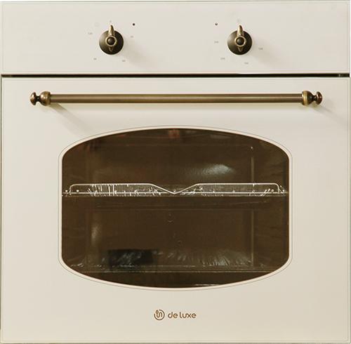 Встраиваемый электрический духовой шкаф DeLuxe 6003.01