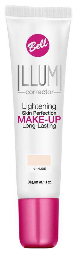 Тональный крем Bell Illumi Lightening Skin Perfection Make-up 01 Nude 30 г