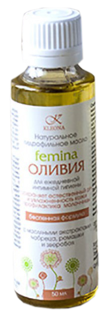 Масло для тела Kleona (Клеона) Femina Оливия