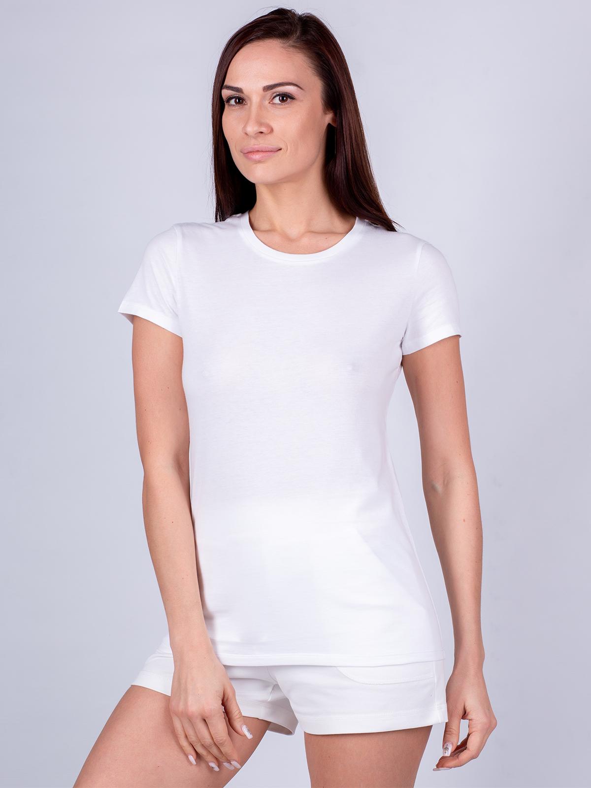 Футболка женская Oxouno белая XL