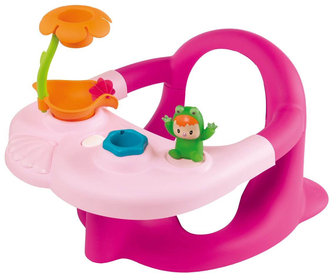 Стульчик сидение для ванной (цвет: розовый)