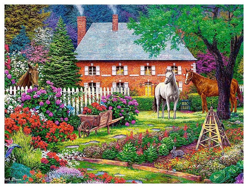 Купить Пазл Чудесный сад , 300 элементов Castorland, Пазлы