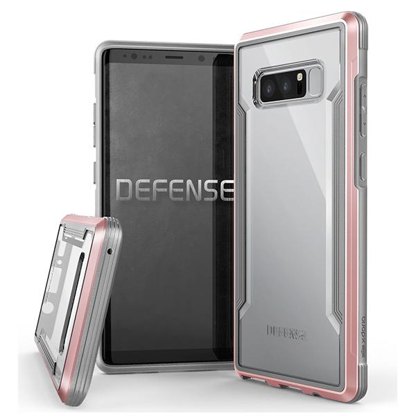 Чехол X-Doria Defense Shield case for Samsung Galaxy Note 8 Rose gold