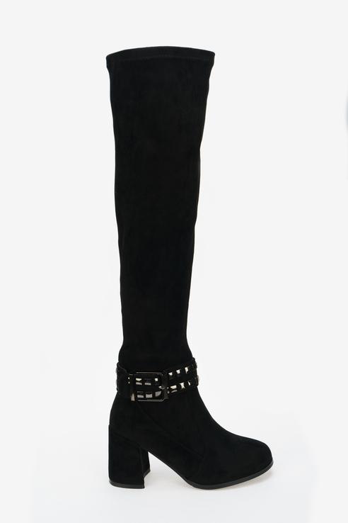 Ботфорты женские Betsy 998017/07 черные 35 RU фото