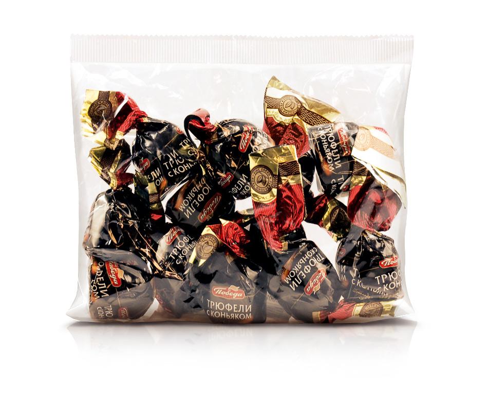 Трюфели шоколадные Победа Вкуса с коньяком фото