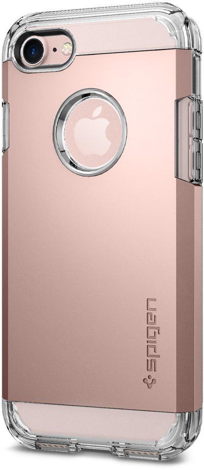 Чехол Spigen Tough Armor для Apple iPhone 7 Rose Gold (042CS20492)