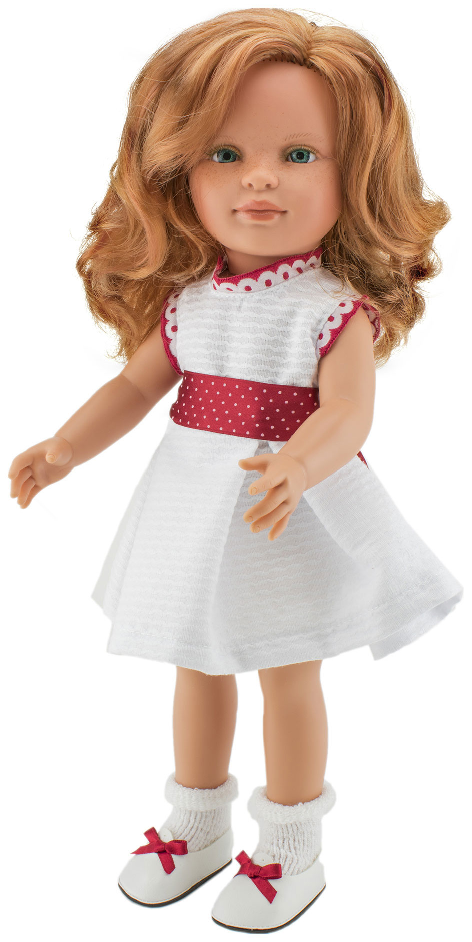 Кукла Нина, рыжие волосы