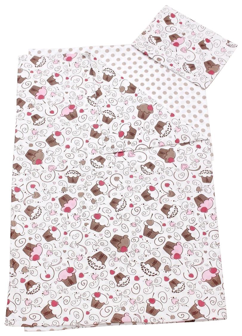 Комплект детского постельного белья AmaroBaby TIME TO SLEEP Десерт Розовый