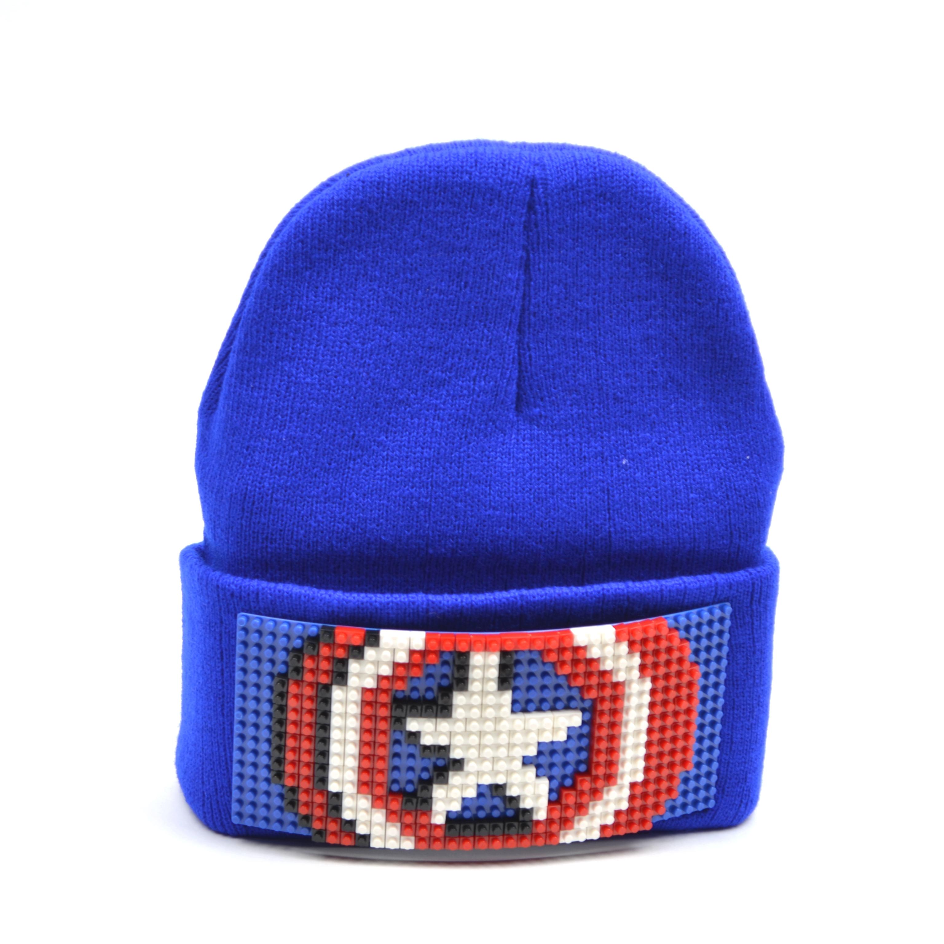 Купить Шапка Kepkastroy Капитан Америка, Детские шапки