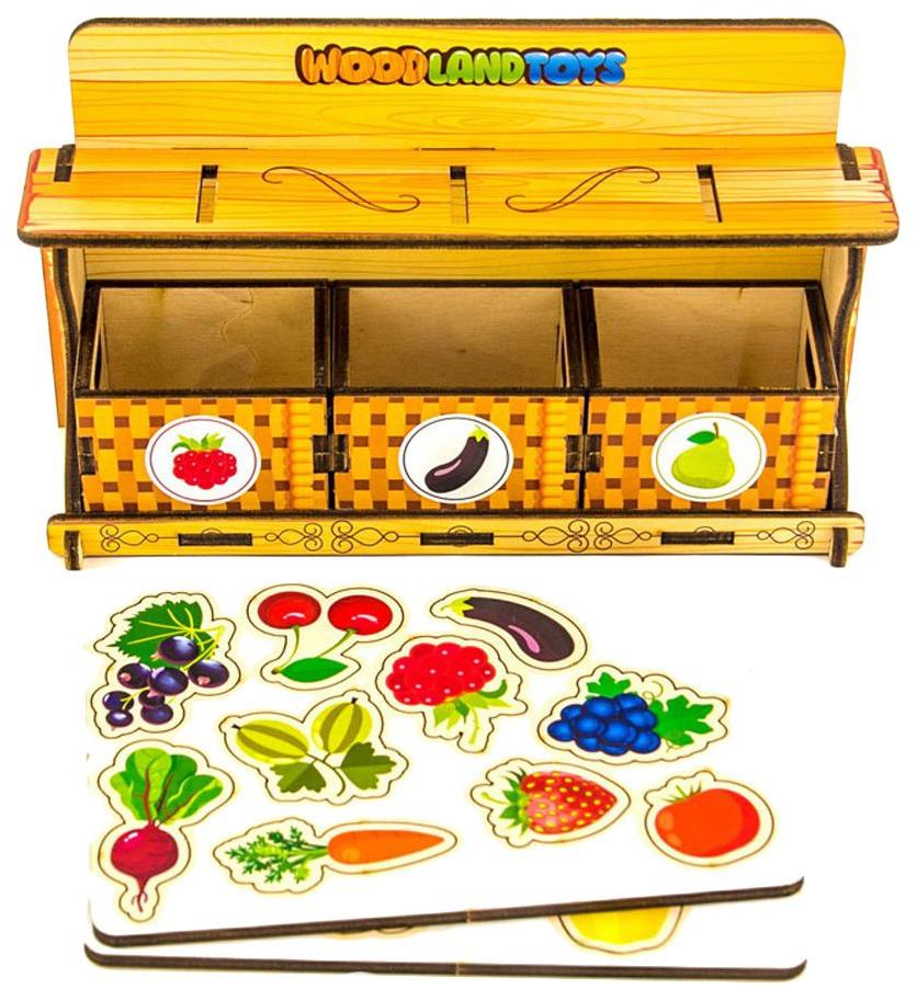 Купить Обучающий набор WoodLand фруктовая лавка,