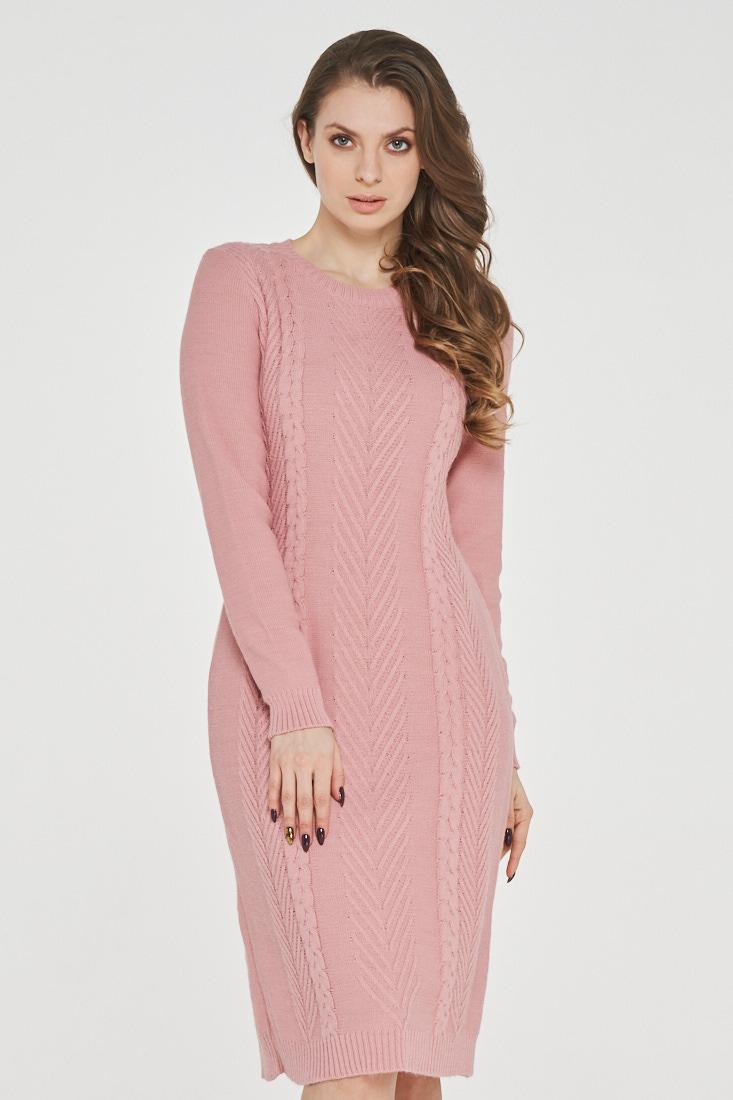 Платье женское VAY 182-2347 розовое 44 RU фото