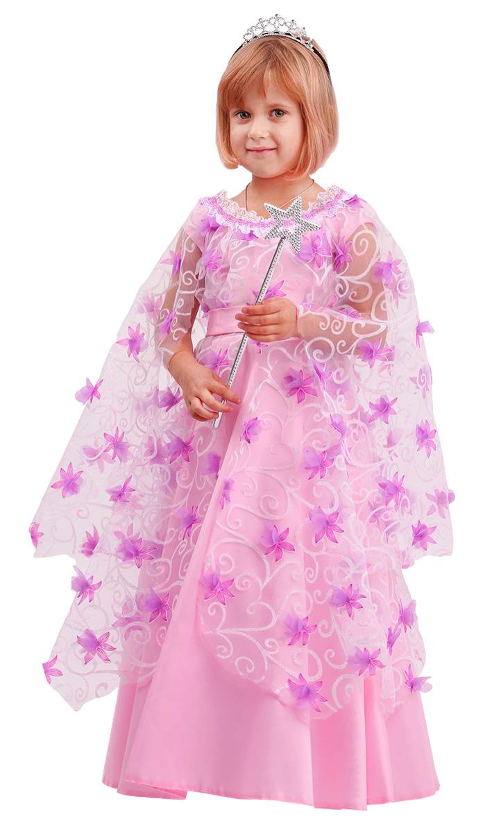 Купить 2074, Карнавальный костюм Батик Фея, цв. розовый р.134,