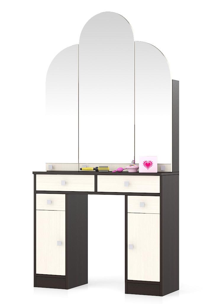 Туалетный столик Мебельный Двор №2 Трельяж венге/дуб