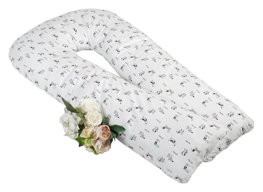 Купить Подушка для беременных U-образная AmaroBaby Exclusive Original Collection Собачки 340х35см,