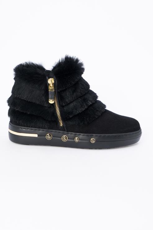 Ботинки женские Baldinini 948015AKILA0000XXRNX черные 39 RU