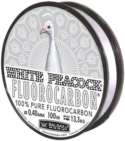 BALSAX WHITE PEACOCK FLUOROCARBON BOX