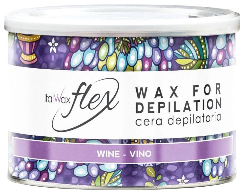 Воск для депиляции ItalWax Flex Вино