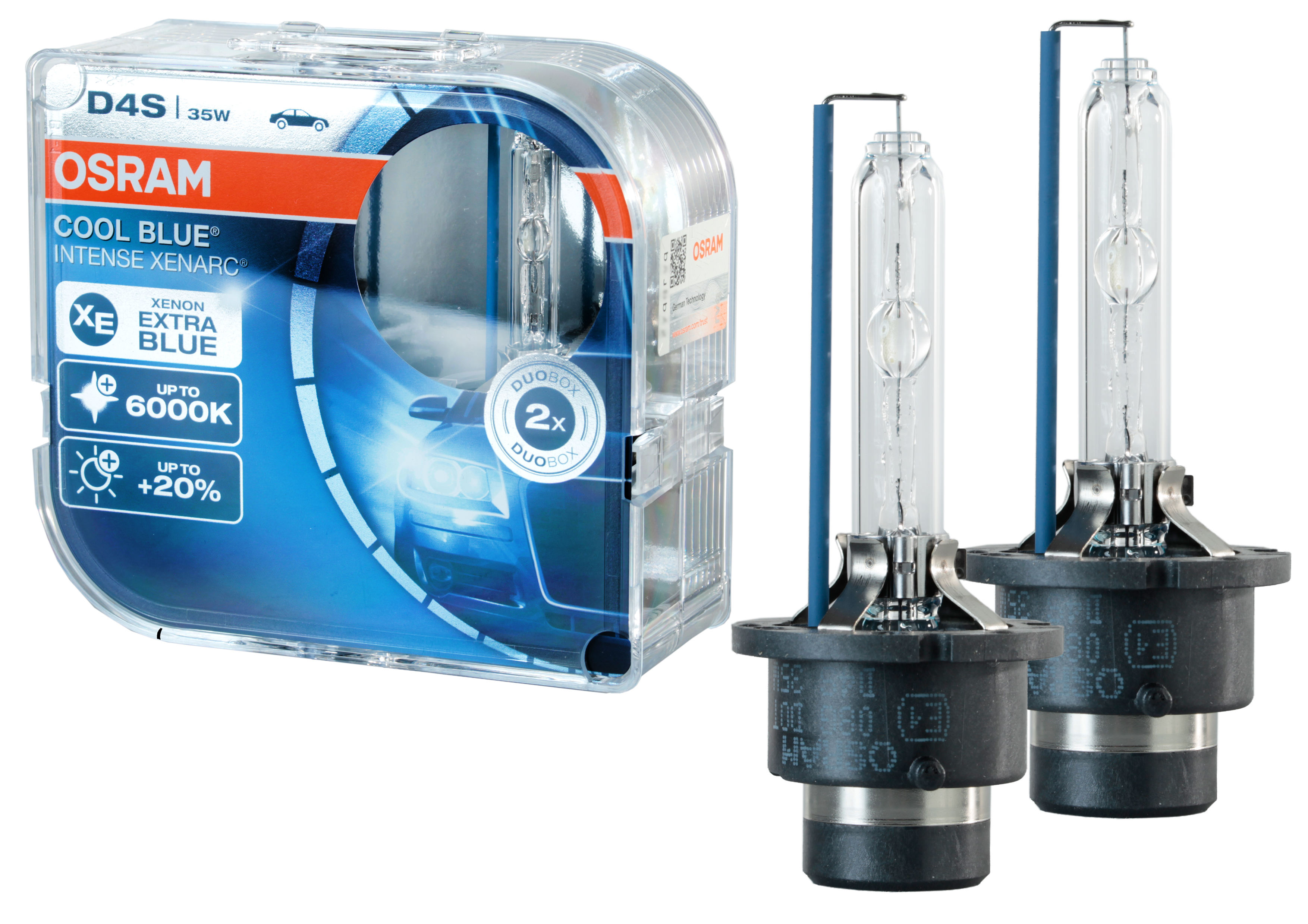 D4s (35w) Лампа Xenarc® Cool Blue® Intense