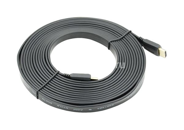 Кабель цифровой аудио-видео BEHPEX FLAT HDMI (m)/HDMI (m) 5 м
