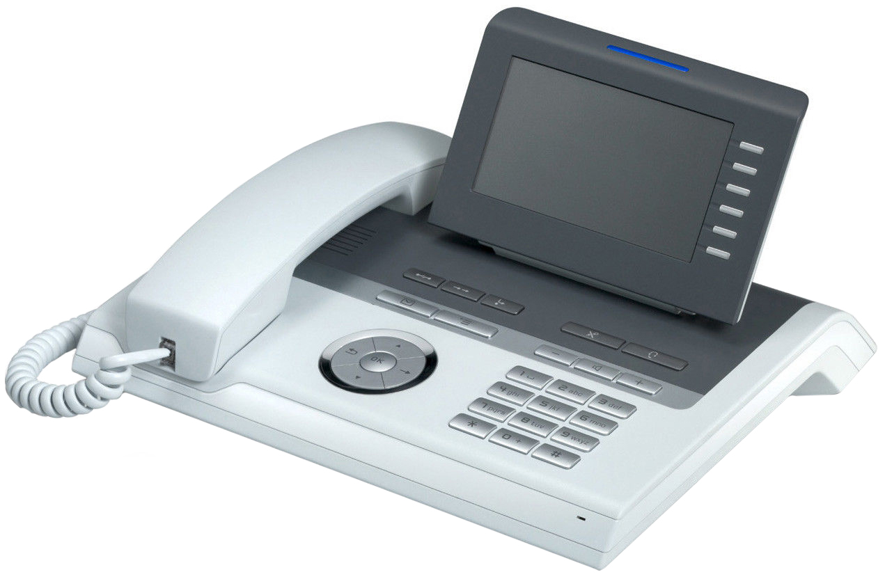 IP-Телефон Unify OpenStage 40 T Белый (L30250-F600-C111).