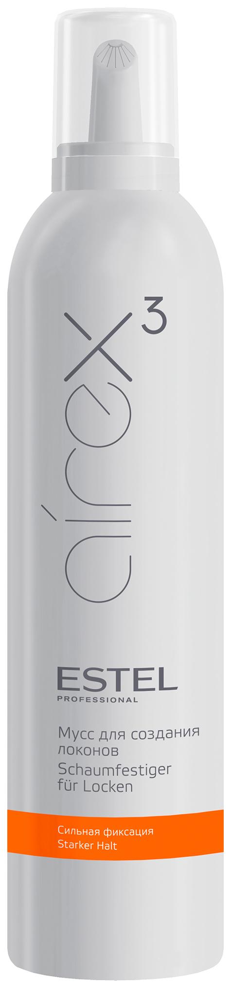 Мусс для волос Estel Professional Airex для создания локонов сильной фиксации 400 мл