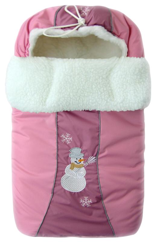 Конверт-мешок для детской коляски Золотой Гусь Снежинка 12006