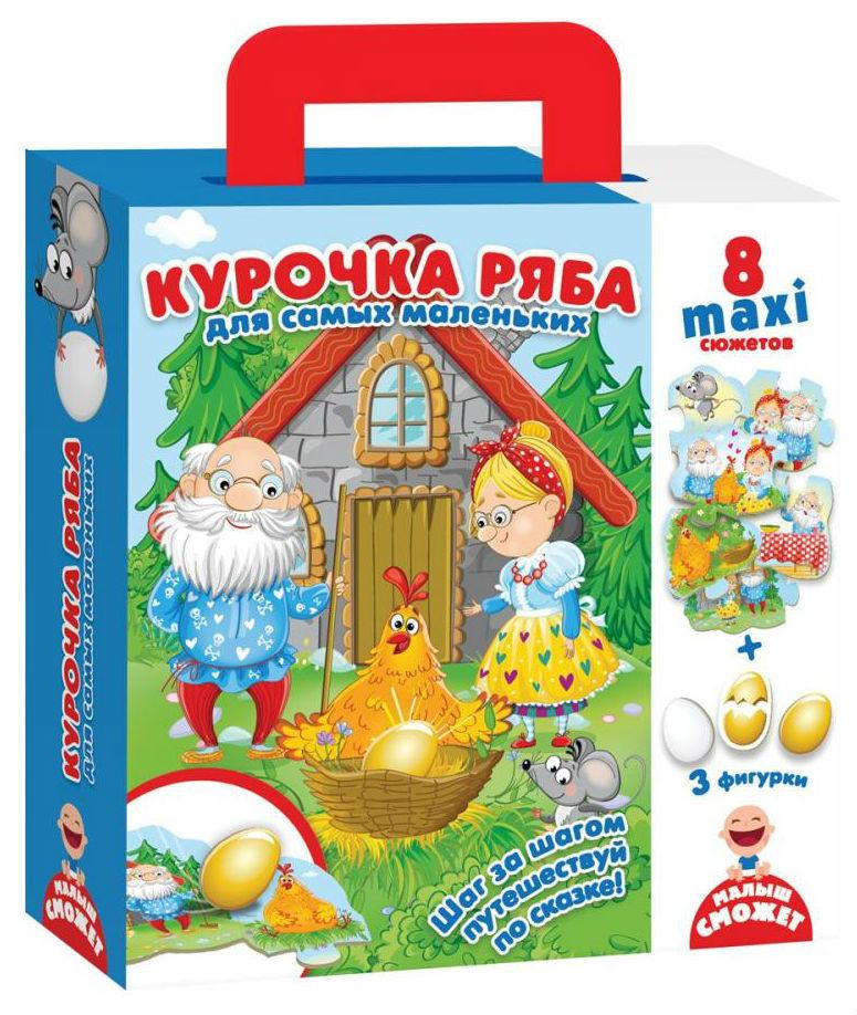 Семейная настольная игра Vladi Toys Путешествие по сказке Курочка Ряба VT2909-12 фото
