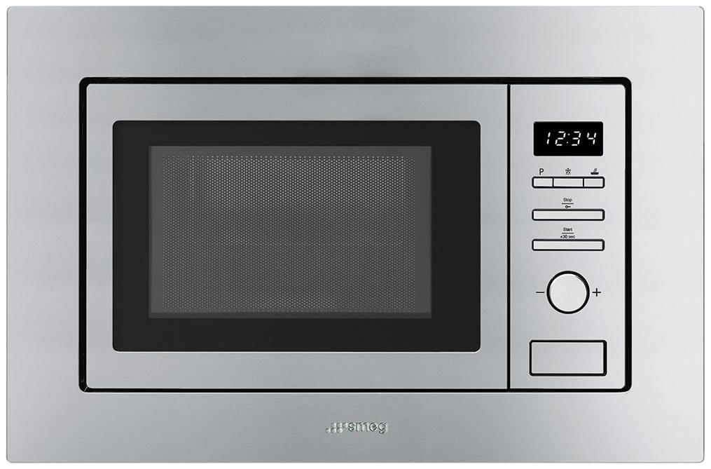 Встраиваемая микроволновая печь с грилем Smeg Universal