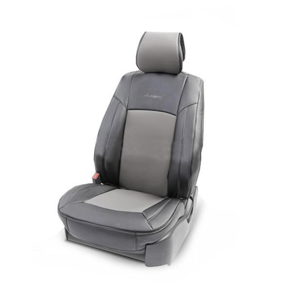 Накидка на сиденье Autoprofi Универсальная HIT-310G BK/D.GY