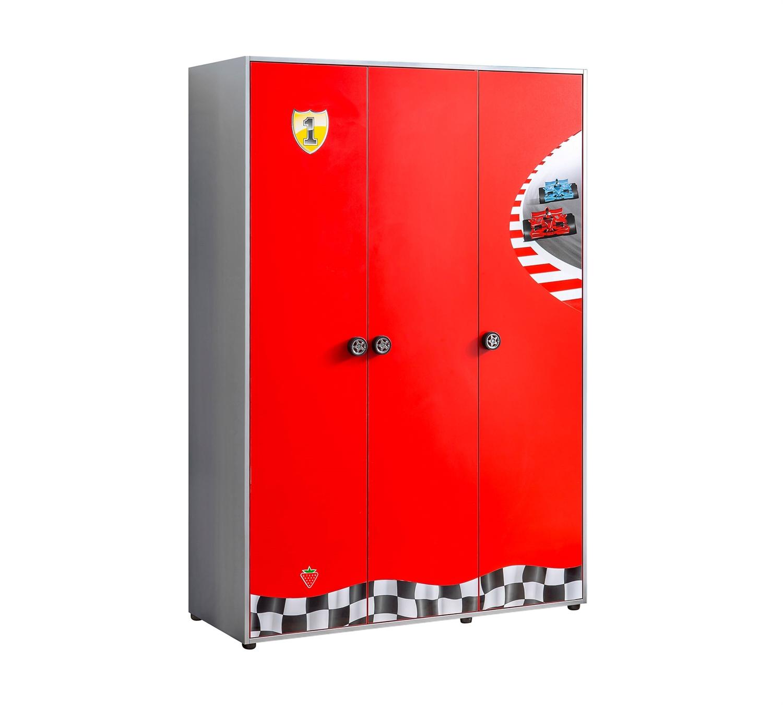 Купить Шкаф Cilek Racecup трехдверный, Шкафы в детскую комнату