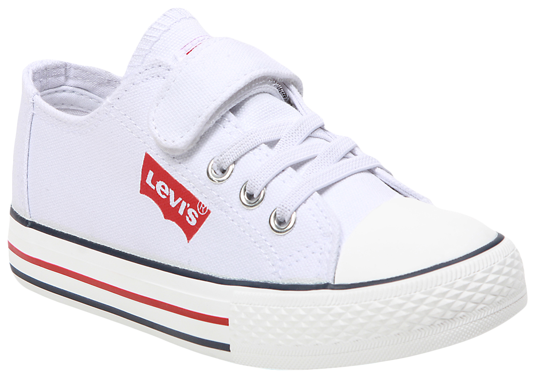 Купить VTRU0133T WHITE 0061, Кеды детские Levi's Kids, цв. белый р.34,