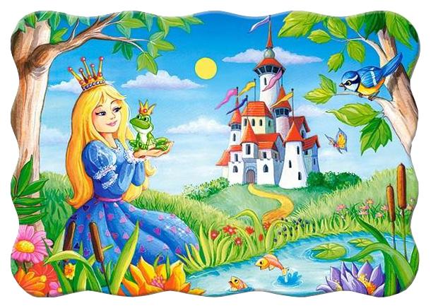 Купить Пазл Castorland 30эл. Принцесса и лягушка, арт. 2190/3679, Пазлы