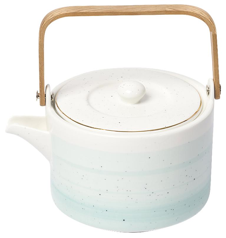 Заварочный чайник EASY LIFE R1592/ARTG Белый, зеленый по цене 3 620