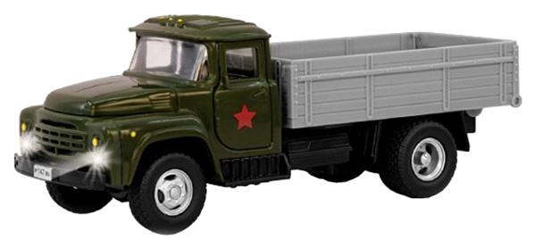 Купить Инерционная машина PLAYSMART Автопарк - Грузовик (свет, звук), 1:54, Военный транспорт