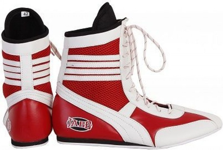Боксерки Jabb JE 3204 красно белые, размер