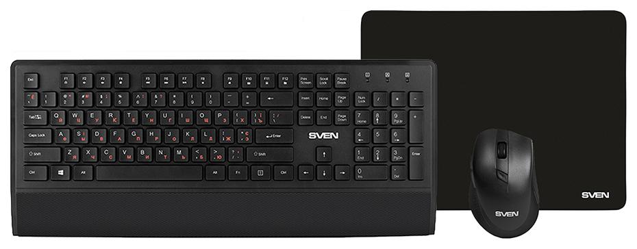 Комплект клавиатура и мышь Sven KB C3800W
