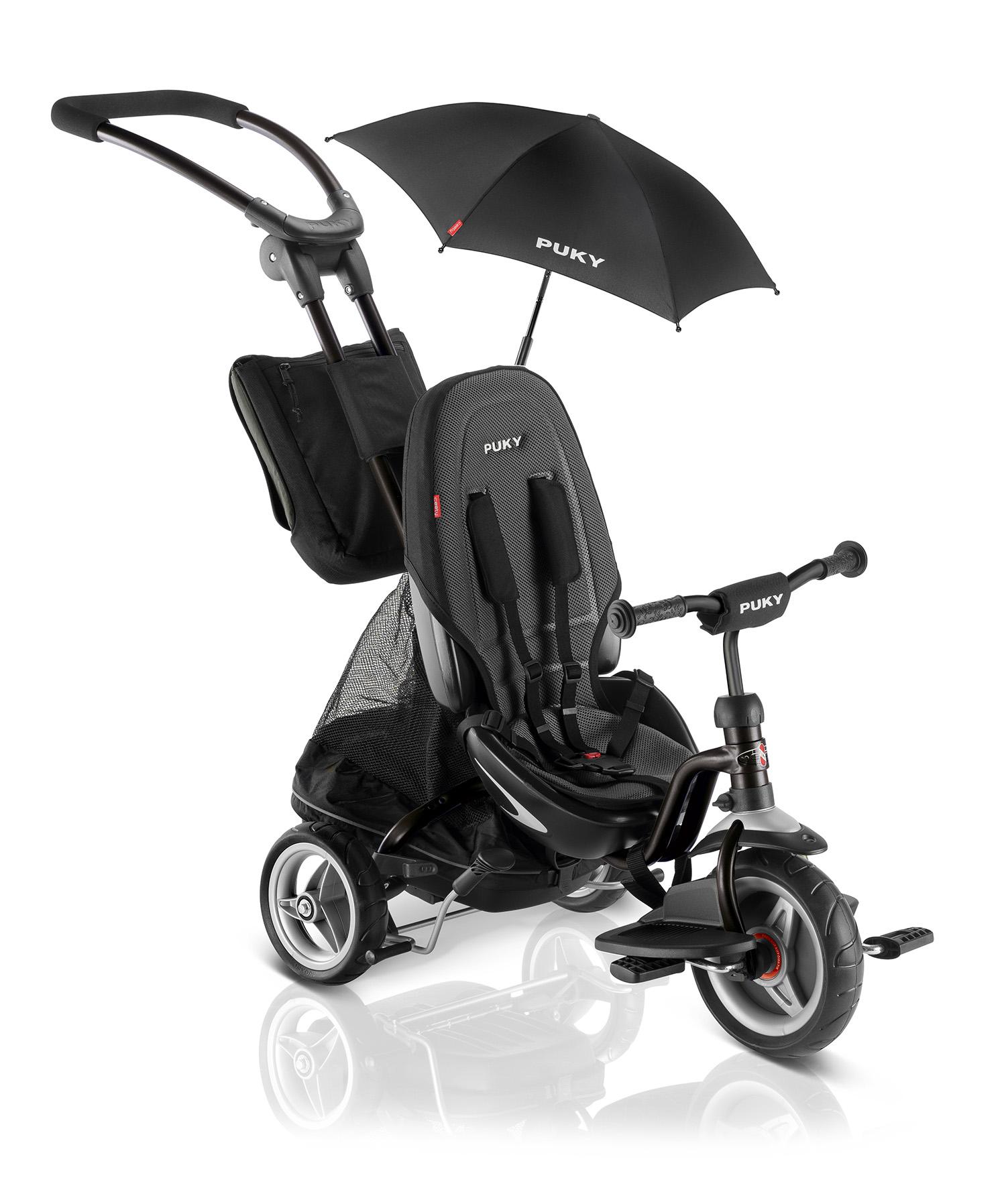 Купить Трехколесный велосипед Puky CAT S6 Ceety черный, Велосипед трехколесный Puky CAT S6 Ceety черный,