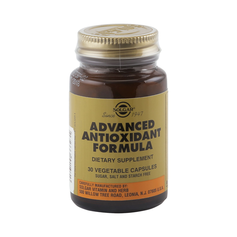 Solgar Антиоксидантная формула капсулы 30 шт. фото
