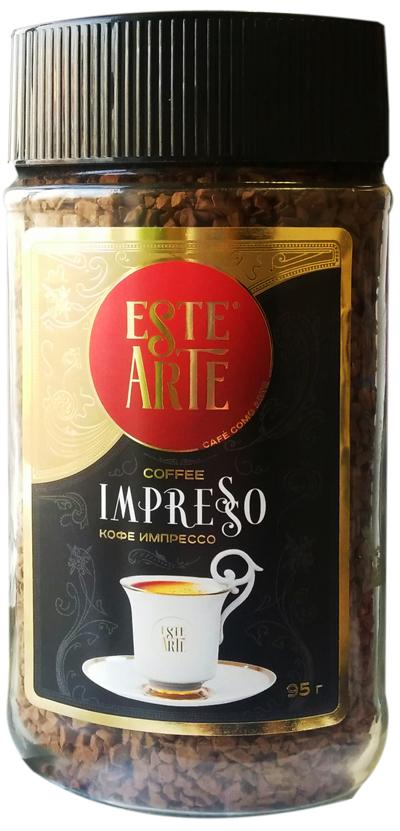 Кофе Este Arte impresso растворимый сублимированный 95 г