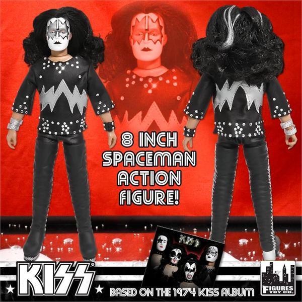 Коллекционная фигурка Kiss   The Spaceman