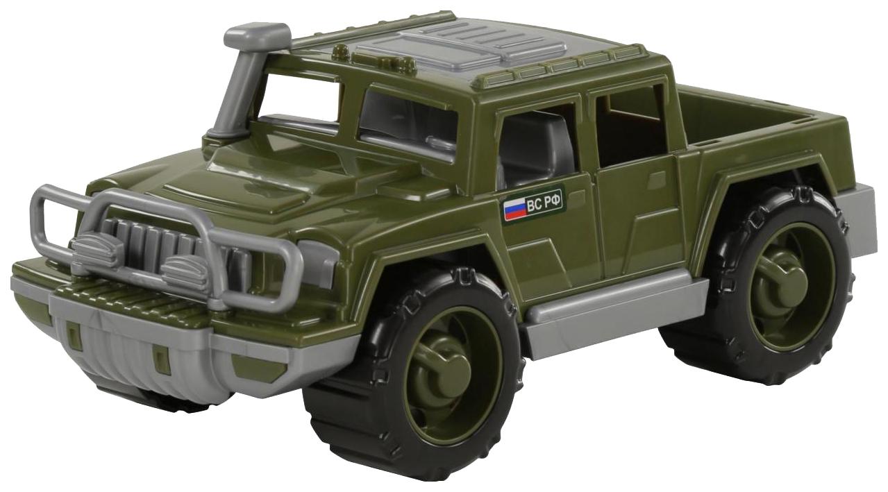 Купить Игрушки, Автомобиль-пикап Полесье военный Защитник, Игрушечные машинки