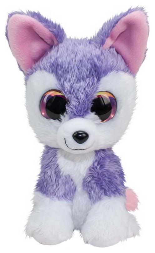 Купить Мягкая игрушка Tactic Волк Susi, фиолетовый, 15 см, Мягкие игрушки животные
